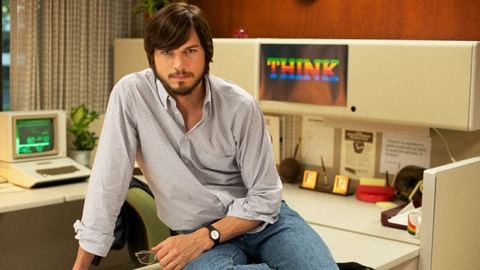 Kutcher as Jobs