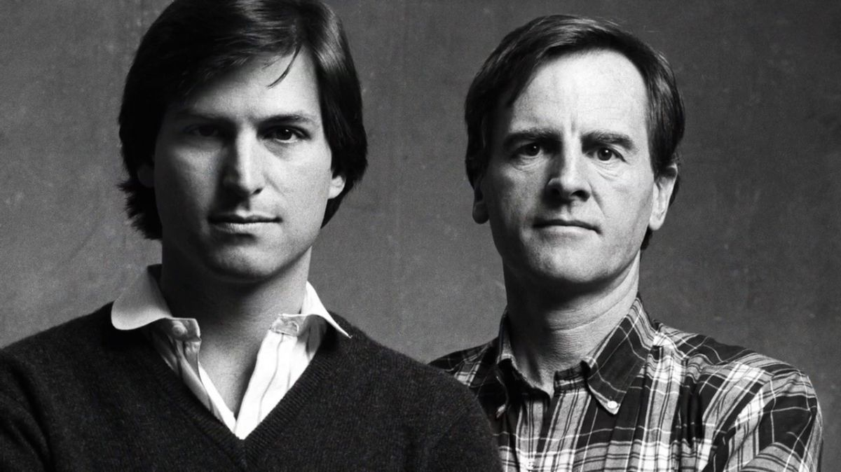 Steve Jobs and John Sculley, 1984