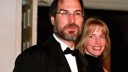 Steve Jobs and his wife Laurene at a White House gala