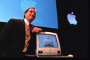 Steve Jobs introducing iMac