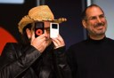 Bono with the iPod U2 and iPod photo