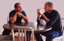 Jony Ive and Steve Jobs at Apple