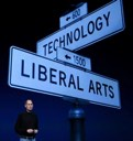 Apple at the intersection of Technology and Liberal Arts, a favorite of Steve Jobs