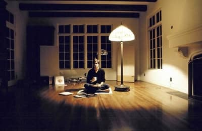 16 Dec 1982 - Steve Jobs having tea in his first house in Los Gatos, CA