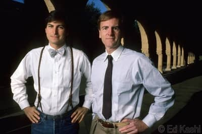 1984 - Jobs and Sculley