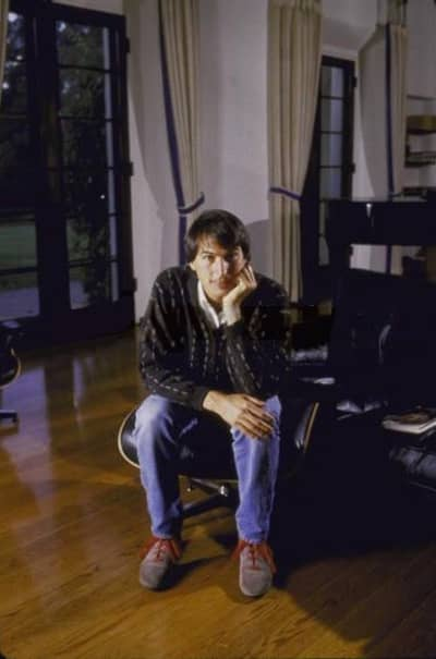 21 Sep 1985 - Steve Jobs at his Woodside mansion after his resignation from Apple