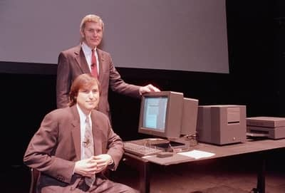 30 Mar 1989 - Steve Jobs and NeXT COO Peter van Cuylenburg