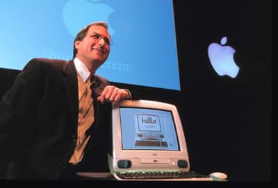 6 May 1998 - Steve Jobs introducing iMac