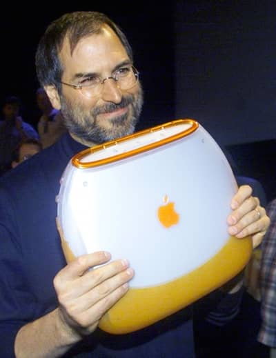 21 Jul 1999 - Steve Jobs after the first iBook introduction, Macworld NY 1999