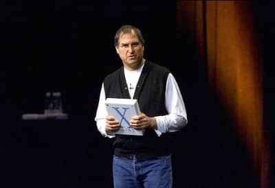 21 May 2001 - Steve Jobs evangelizing Mac OS X at the WWDC 2001