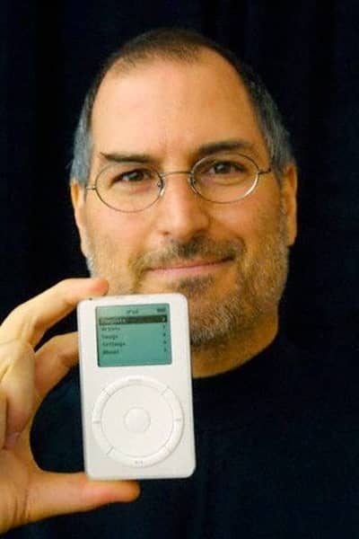 23 Oct 2001 - Steve Jobs after the iPod introduction