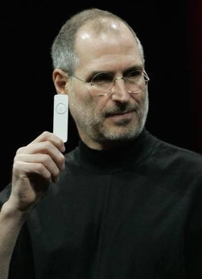 11 Jan 2005 - Steve Jobs introduces iPod shuffle