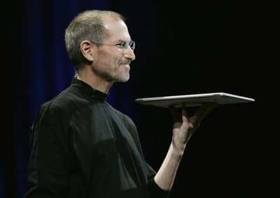 15 Jan 2008 - Jobs unveiling MacBook Air