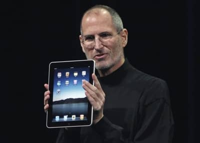 27 Jan 2010 - Steve Jobs at the iPad introduction