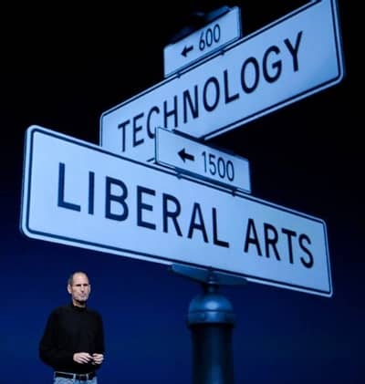 2 Mar 2011 - Apple at the intersection of Technology and Liberal Arts, a favorite of Steve Jobs
